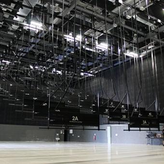 Large sound stages at Docklands Studios Melbourne