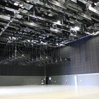 Movie sound stage at Docklands Studios